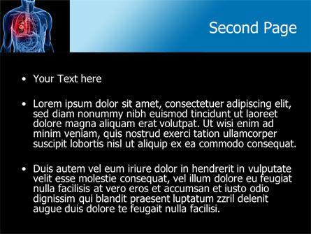 Lung Cancer PowerPoint Template, Slide 2, 08239, Medical — PoweredTemplate.com