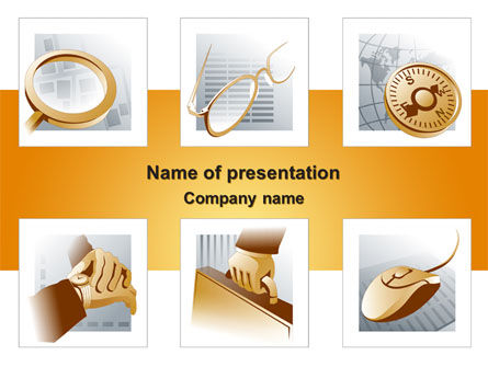 Business Attributes PowerPoint Template, 08241, Business — PoweredTemplate.com