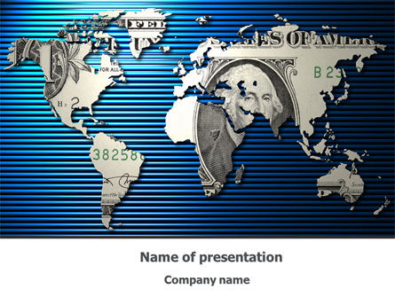 Dollar Capital Investment PowerPoint Template, 08243, Financial/Accounting — PoweredTemplate.com