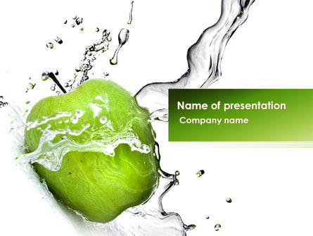 Careers/Industry: Clean Apple PowerPoint Template #08244
