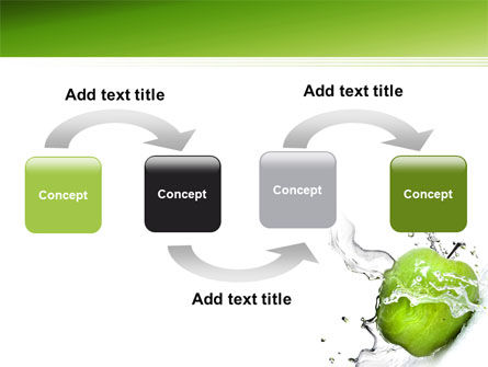Clean Apple PowerPoint Template Slide 4