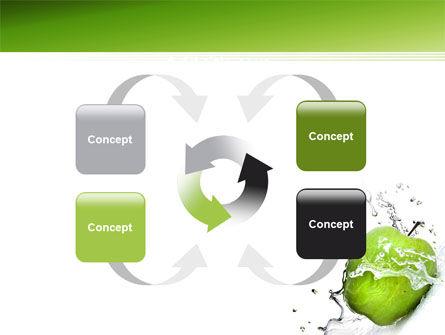 Clean Apple PowerPoint Template Slide 6