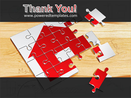 House Jigsaw PowerPoint Template Slide 20