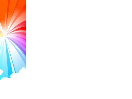 Rainbow PowerPoint Template, Slide 3, 08247, Religious/Spiritual — PoweredTemplate.com