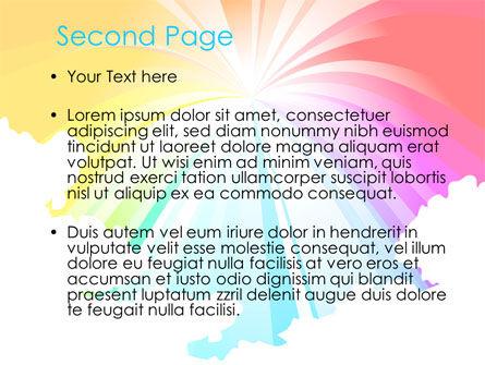 Rainbow PowerPoint Template, Slide 2, 08247, Religious/Spiritual — PoweredTemplate.com