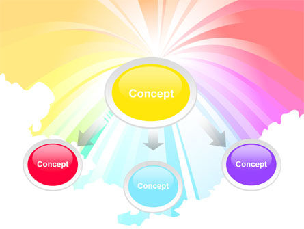 Rainbow PowerPoint Template, Slide 4, 08247, Religious/Spiritual — PoweredTemplate.com