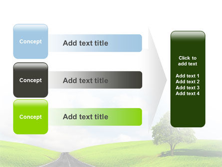 Clear Road PowerPoint Template Slide 12