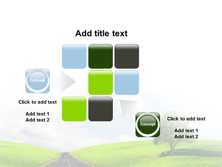 Clear Road PowerPoint Template Slide 16