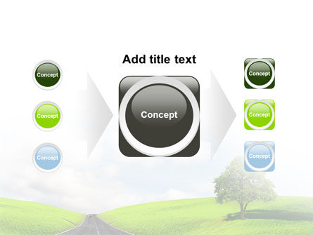 Clear Road PowerPoint Template Slide 17