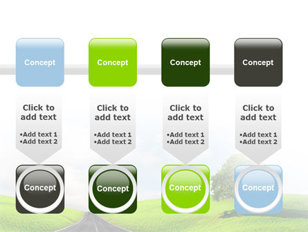 Clear Road PowerPoint Template Slide 18