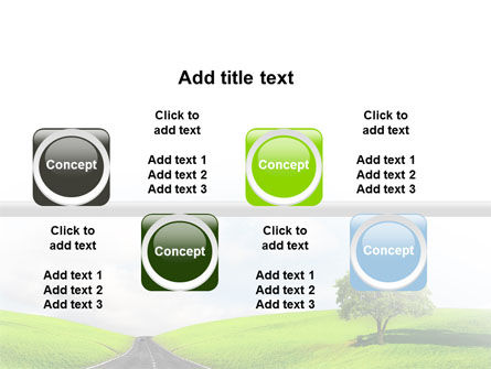 Clear Road PowerPoint Template Slide 19
