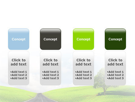 Clear Road PowerPoint Template Slide 5