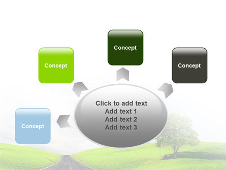 Clear Road PowerPoint Template Slide 7