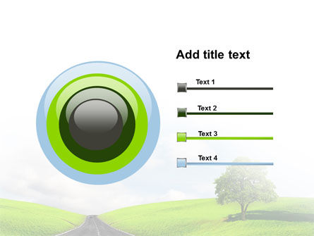 Clear Road PowerPoint Template Slide 9
