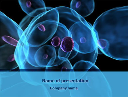 Technology and Science: Stem Cells PowerPoint Template #08249