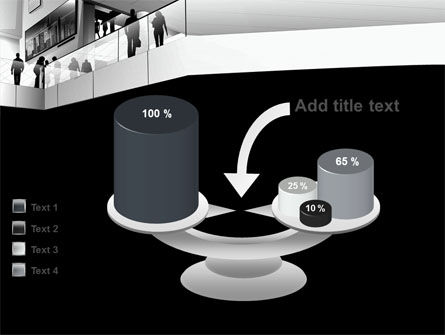 Business Center In Gray Colors PowerPoint Template Slide 10
