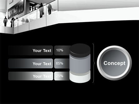 Business Center In Gray Colors PowerPoint Template Slide 11