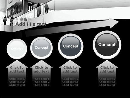 Business Center In Gray Colors PowerPoint Template Slide 13