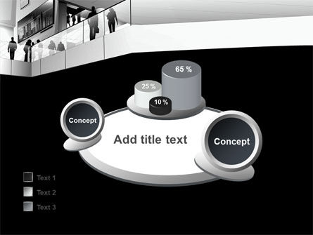 Business Center In Gray Colors PowerPoint Template Slide 16