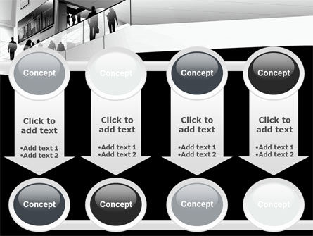 Business Center In Gray Colors PowerPoint Template Slide 18