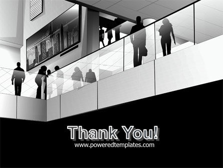 Business Center In Gray Colors PowerPoint Template Slide 20