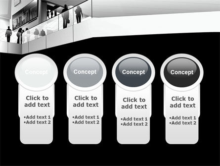 Business Center In Gray Colors PowerPoint Template Slide 5