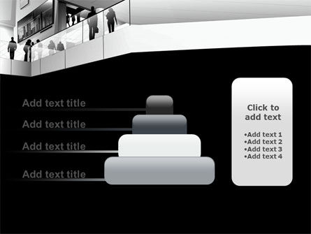 Business Center In Gray Colors PowerPoint Template Slide 8