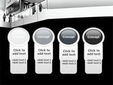 Business Center In Gray Colors PowerPoint Template#5