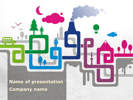 Nature & Environment: Production Cycle PowerPoint Template #08252