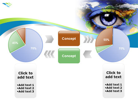 World Eye PowerPoint Template Slide 11