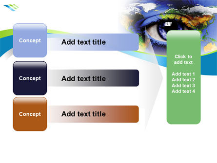 World Eye PowerPoint Template Slide 12