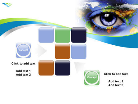 World Eye PowerPoint Template Slide 16
