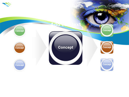 World Eye PowerPoint Template Slide 17