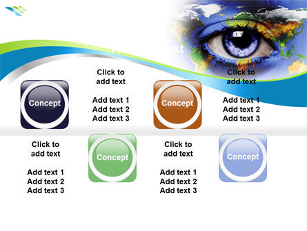 World Eye PowerPoint Template Slide 19