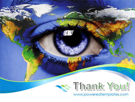 World Eye PowerPoint Template Slide 20
