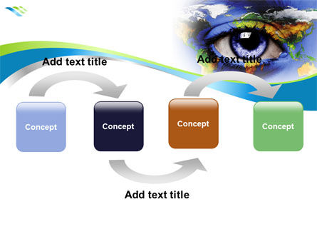 World Eye PowerPoint Template, Slide 4, 08253, Global — PoweredTemplate.com