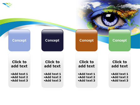 World Eye PowerPoint Template Slide 5