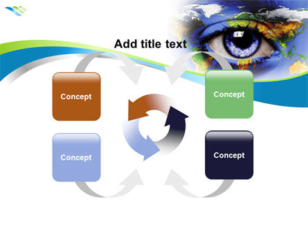 World Eye PowerPoint Template Slide 6