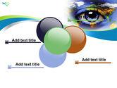 World Eye PowerPoint Template#10