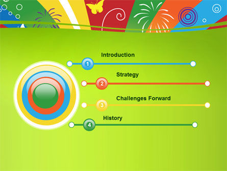 School Stationery PowerPoint Template Slide 3