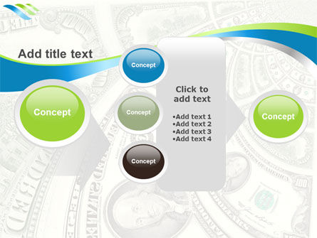 Hundred Dollar Bill PowerPoint Template Slide 17
