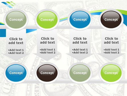 Hundred Dollar Bill PowerPoint Template Slide 18