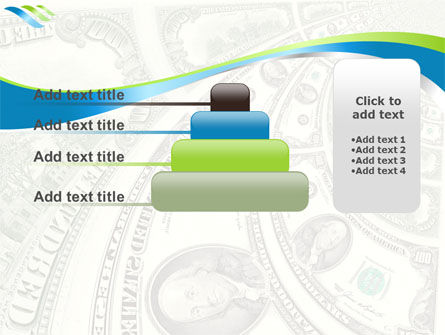 Hundred Dollar Bill PowerPoint Template Slide 8