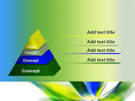 Leaf Design Motif PowerPoint Template Slide 12
