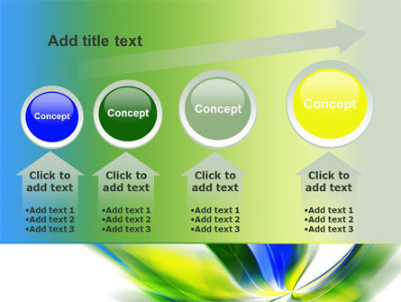 Leaf Design Motif PowerPoint Template Slide 13
