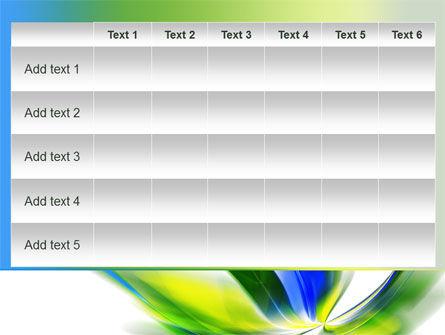 Leaf Design Motif PowerPoint Template Slide 15