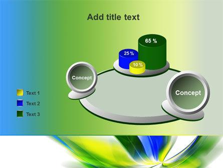 Leaf Design Motif PowerPoint Template Slide 16