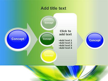 Leaf Design Motif PowerPoint Template Slide 17