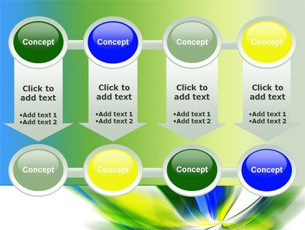 Leaf Design Motif PowerPoint Template Slide 18