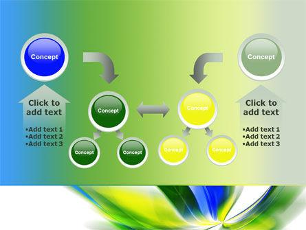 Leaf Design Motif PowerPoint Template Slide 19